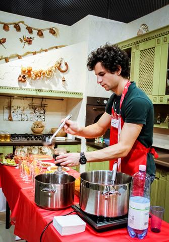 Кулинарный мастер-класс «Рождественские чудеса»