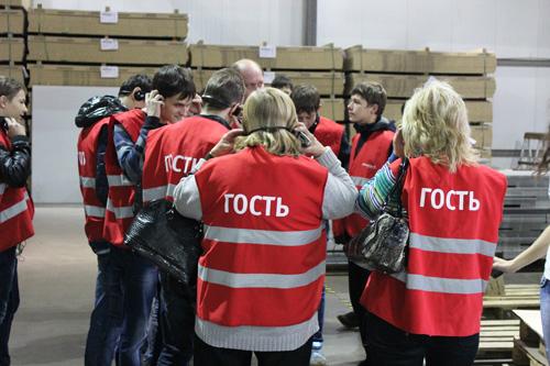 Студенты колледжа им. Гагарина побывали на фабрике «Мария»!