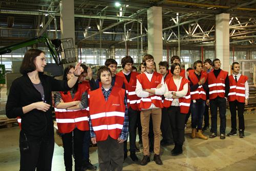 Ученики МОУ «Лицей прикладных наук» побывали на фабрике «Мария»!