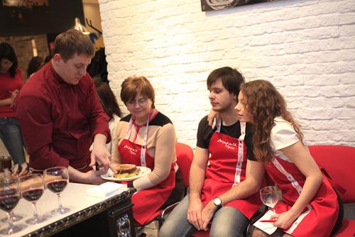 Ужин для настоящих мужчин. Н.Новгород