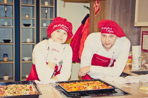 «Мария» готовила пиццу для жителей Рязани!
