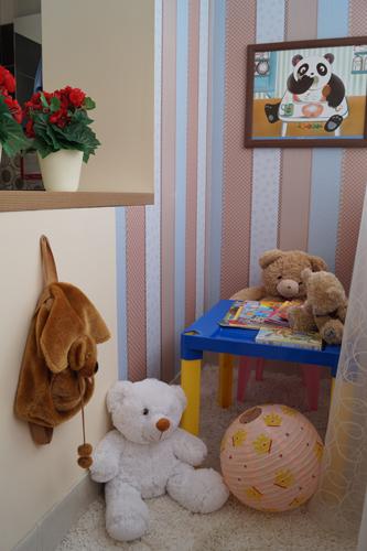 Кухонная студия «Мария» с домашним интерьером
