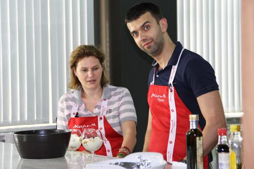 В шоу-руме «Марии» готовят блюда «Кухни счастливой жизни»!