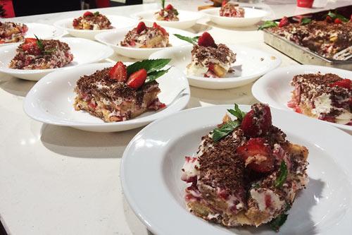 В Москве приготовили итальянский ужин