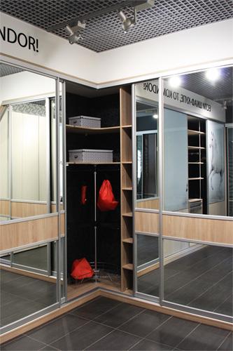 Салон шкафов-купе КOMANDOR – в «Марии»!