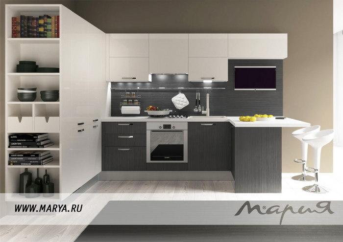 Фото: дизайн кухни 2016 – изящность и простота